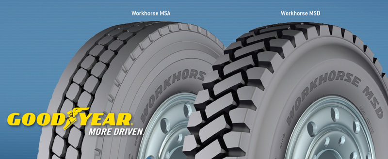 Шины Goodyear Workhorse MSA и MSD