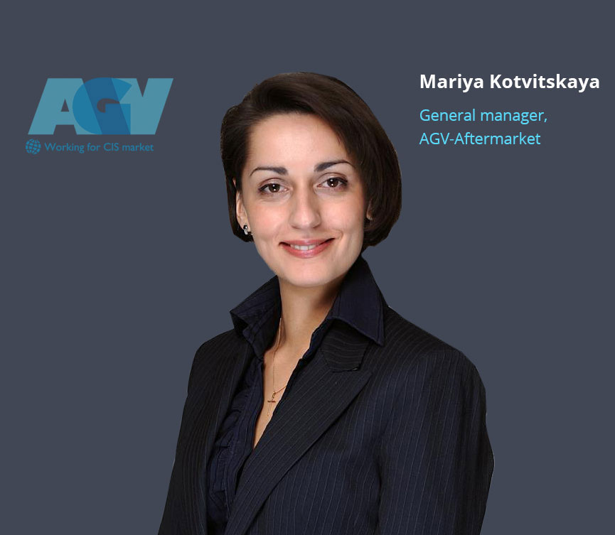 Mariya Kotvickaya, CEO, co-founder at AGV marketing agency