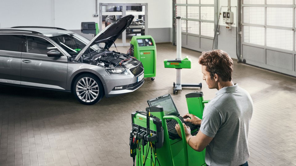 Программное обеспечение Bosch Connected Repair