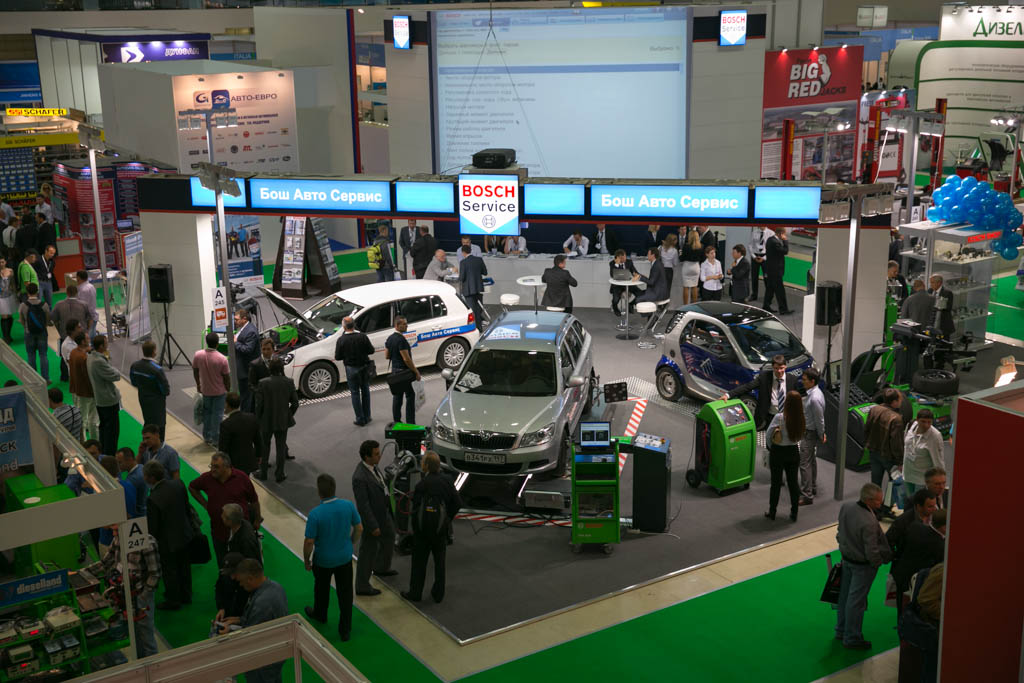 Bosch на Automechanika Moscow powered by MIMS
