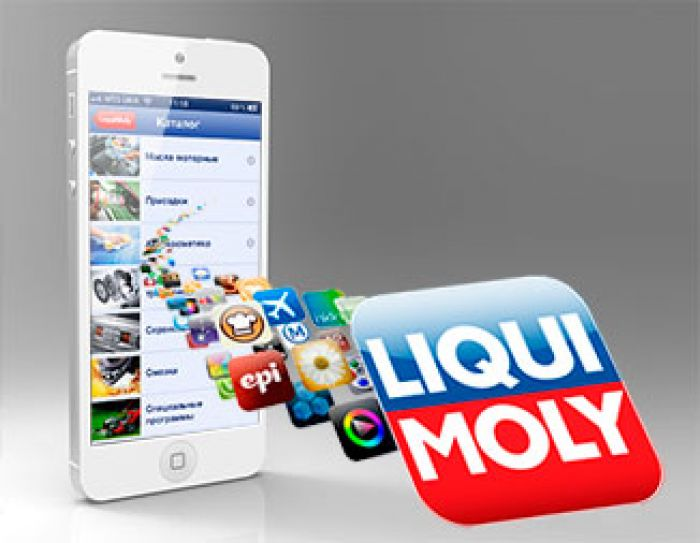 Liqui Moly mobile application